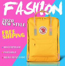 Fjallraven Kan ken 16L Yellow Backpack School Waterproof Canvas Bag