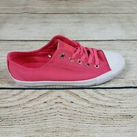 Converse Womens Pink Chuck Taylor All Star Dainty Ox Low Top Shoes Size 5.5 NWB