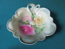 Jhon H. Roth Charlotte Pattern Platter Handle Roses