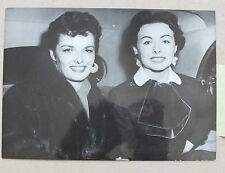 ANCIENNE PHOTOGRAPHIE - JANE RUSSELL & JEANNE CRAIN 1954 - AGIP COHEN *
