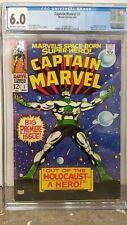 Captain Marvel #1 CGC 6.0 Marvel Comics Silver Age