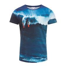 Orlebar Brown Surf Print T-shirt Medium With Tags*