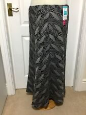 M & S Maxi Skirt Size 14, Winter Skirt, Lined, Grey Mix, BNWT was £39.50