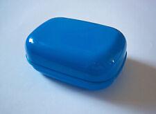 Soap Box Dish Plate Case Blue TRAVEL, BATHROOM, CAMPING, TREKING