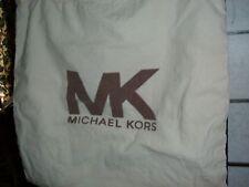 Michael Kors MK cotton canvas large shoe bag travel storage drawstring