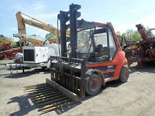 Linde H70D Diesel Forklift Runs Mint! H70-D Fork Truck Block Forks Masonry Block