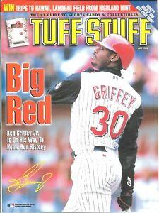 Tuff Stuff Magazine July 2000 Ken Griffey Jr Cincinnati Reds