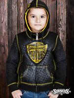 """Bikers Harley Davidson Children/'s Hoodie /""""MOTORS/"""" with the biggin"""