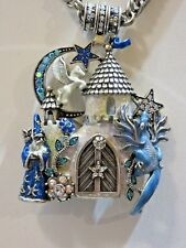 NEW KIRKS FOLLY KEEPERS OF THE CAMELOT CASTLE MAGNETIC ENHANCER NECKLACE / PIN