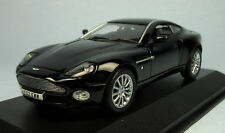MINICHAMPS Aston Martin Vanquish V12 (Black) 1/43 Scale Diecast Model NEW, RARE!