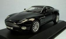 MINICHAMPS Aston Martin Vanquish V12 (Black) 1/43 Scale Diecast Model NEW, RARE!