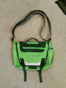 Patagonia MiniMass Waterproof Crossbody Messenger Bag. Green. Ships Same Day!