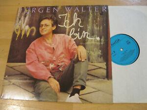 LP Jürgen Walter Ich bin  Clown sein  Ohne Applaus  Vinyl Amiga DDR 8 56 217