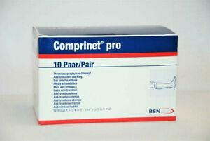 Anti Thrombose Strümpfe Stützstrümpfe Kompressiosstrümpfe medium knielang 1Paar