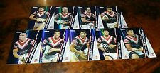 2015 NRL ESP TRADERS SYDNEY ROOSTERS PARALLEL TEAM SET 9 CARDS MALONEY PEARCE