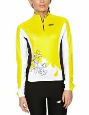 Women's Long Sleeve Cycling Jerseys with Half Zipper
