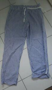 Womens/Ladies Gap Striped Pyjama Bottoms Size Small worn Twice