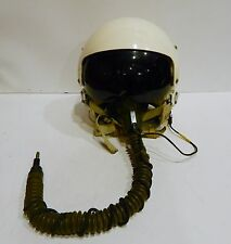 VTG GREEK AIR FORCE F-5 50s 60s PILOT HELMET USED IN ACTION JET FIGHTER