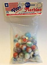Vintage Original Package of Vitro Finest Quality Marbles 45+1 Pcs