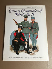 OSPREY MEN-AT-ARMS SERIES 124 - GERMAN COMMANDERS OF WORLD WAR II