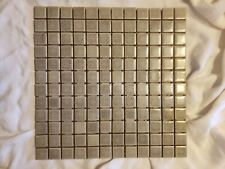 """Vintage, 144 Of 1"""" By 1"""" Tile, Beautiful Gray'S, Zanesville Mosaic Tile Company"""