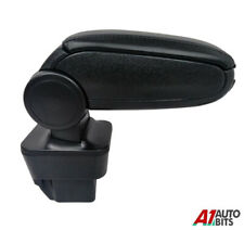 Opel Vauxhall Astra H 2004-2012 Car Armrest + Assembly Set Black Eco Leather