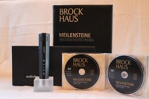 Brockhaus Meilensteine (10 Bänder) inkl. 4 Multimedia-DVD's & audioPen