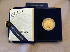 1996W Gold US American Eagle Proof Coin $25 coin (1/2 tr oz)