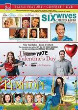 eOne Triple Feature Set 16 (Six Wives of Henry Lefay, I Hate Valentines Day, Pe…
