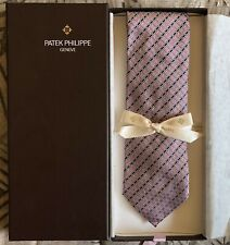 Original Patek Philippe Necktie by Ermenegildo Zegna 100% Silk - Brand New w Box