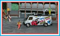 1989 / 2000 Matchbox _ HO Scale _ TV News Truck _ News at Noon _ Weather /Sports