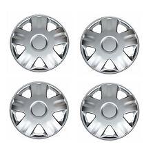 NEW Hub Caps Style 1005 Full Wheel Rim Cover Universal Silver 14'' -Set of 4