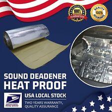 10mm Thickness Sound Deadener Car Heat Shield Insulation Deadening Mat Van Truck