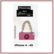 BACI MILANO COVER BORSETTA PORTA IPHONE 4 4S 190524 ROSA PINK CASAFASHIONITALIA