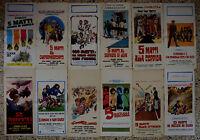 Lote 12 Carteles Les Charlots 5 Matti Claude Zidi Jacques Dufilho Triangle N43