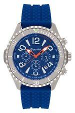 Gigandet Herren Armbanduhr Aquazone Quarz Chronograph blau Silber G23-004