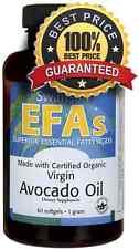 Avocado Oil Organic 1000 mg x 60 Softgel Swanson ** AMAZING PRICE **