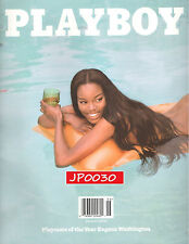 Playboy June 2016 #06, NON-Nude, Brand New Sealed, Cover Girl Eugena Washington