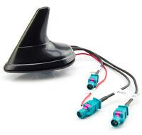 Auto Antenne für AUDI VW ab 2004 Shark Dachantenne FM Radio GPS Navi GSM aktiv