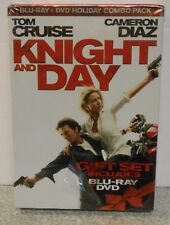Knight and Day (Blu-ray/DVD, 2010, 2-Disc Set) RARE ROMANCE COMEDY BRAND NEW