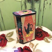 Fabulous Vintage Retro Tea Tin