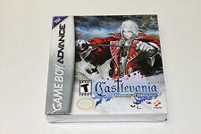 Factory Sealed Castlevania Harmony of Dissonance Nintendo GBA Brand New and Mint