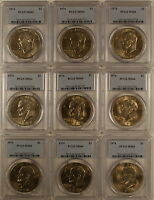 1974 Eisenhower Ike Dollar Coin, PCGS MS-64