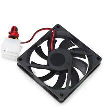80mm x 15mm 12V 4pin PC Computer Case Fan VGA GPU Card Cooler Cooling Fan Black