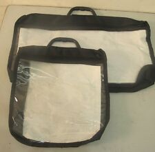 Bag - Case for tefillin / and a tallit. Made- Plastic+ Canvas + Handle + STRAP