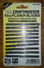 CRAFTMASTER TUNGSTEN CARBIDE PLANER BLADES. Universal planer blades. (GENUINE).