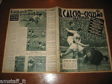 IL CALCIO E CICLISMO ILLUSTRATO 1956/3=TORINO MILAN=ROMA BOLOGNA=
