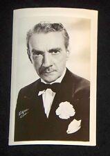 Clifton Webb 1940's 1950's Actor's Penny Arcade Photo Card