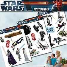Star Wars Clone Wars Fenstersticker Fensterbilder wiederverwendbar TV Kino