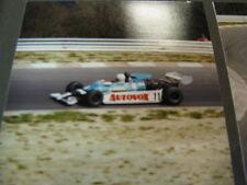Photo Sanremo Racing Toleman-Lola TG 850 Hart 1981 #11 Guido Pardini (ITA)